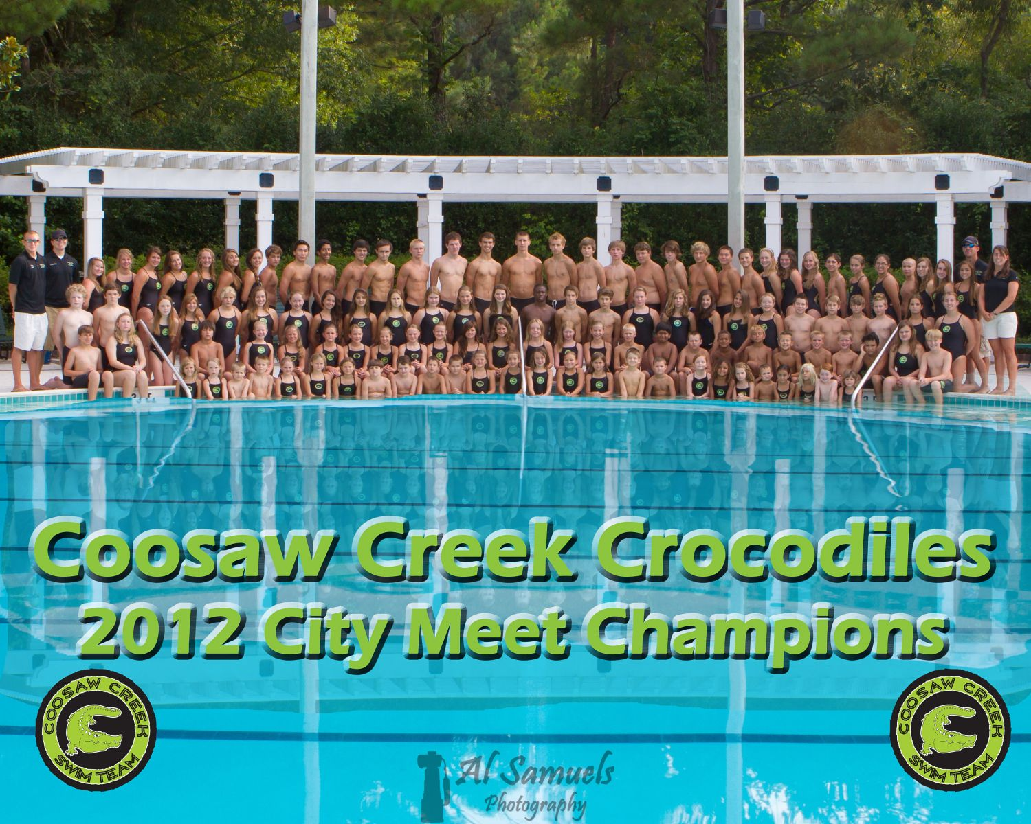 The Coosaw Creek Crocodiles Swim Team