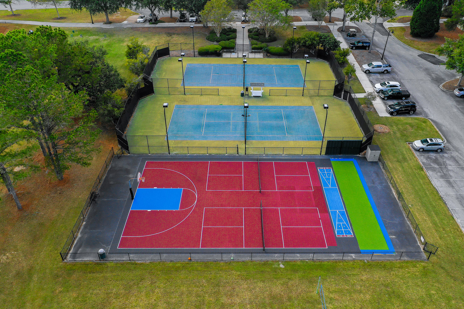 Tennis Courts at Coosaw Creek