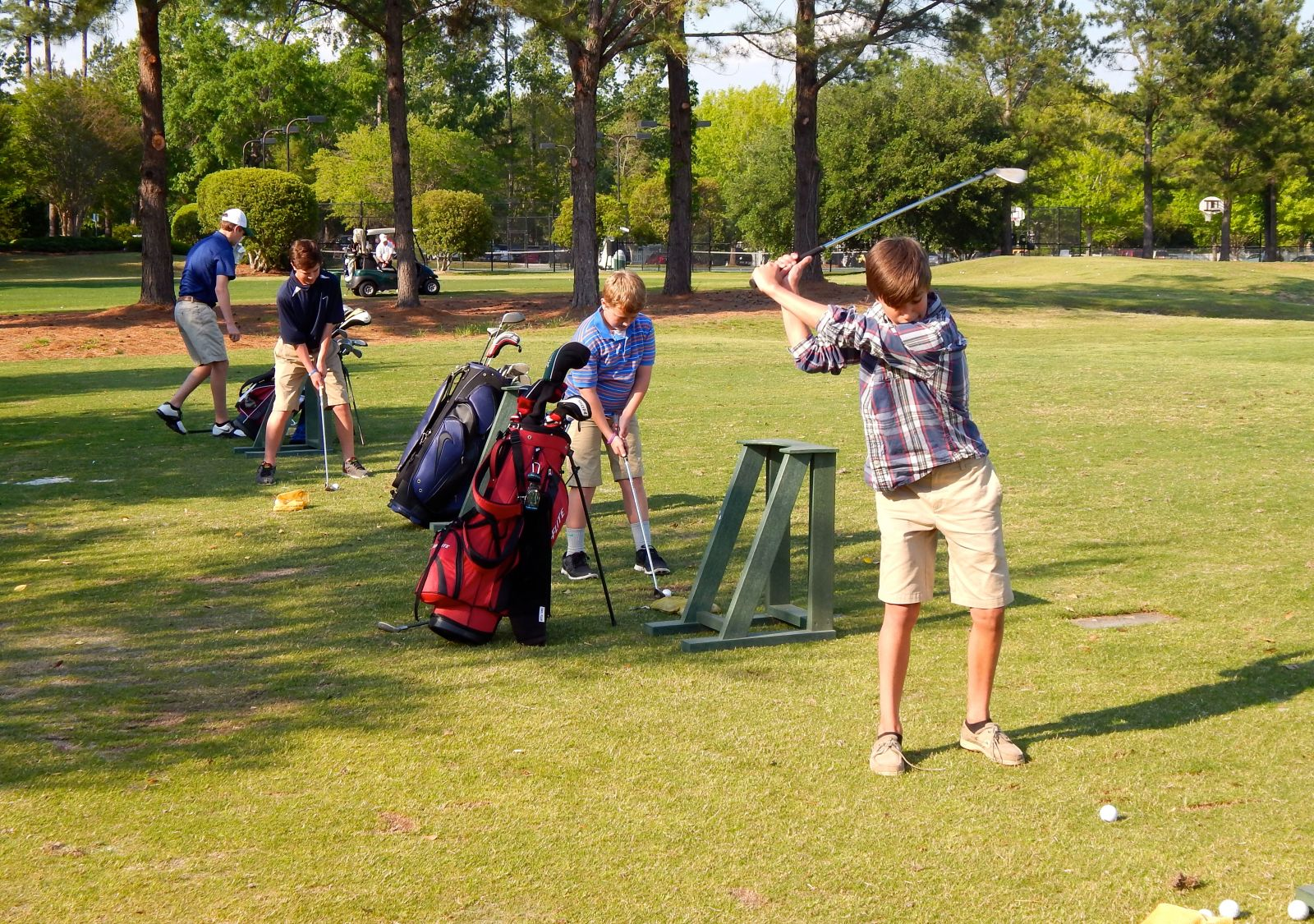 Junior Camps at Coosaw Creek Country Club in North Charleston, SC